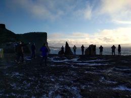 Reykjanestáin, þar sem Atlantshafshryggurinn kemur á land.