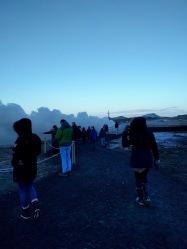 Við Gunnuhver á Reykjanesi